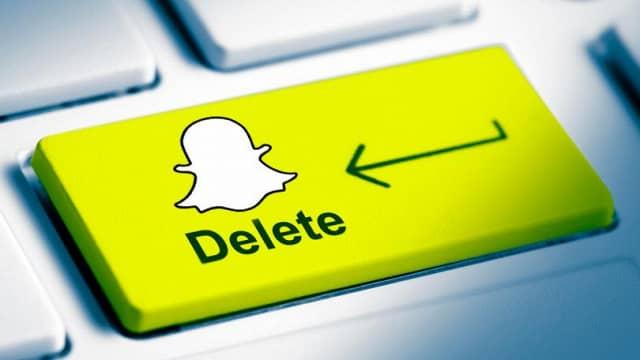 Как удалить аккаунт в Снэпчате